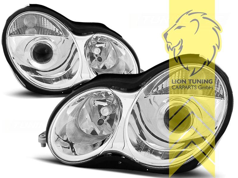 mercedes c-klasse /(w203/) chrom silver vision blinkerbirnen bau15s