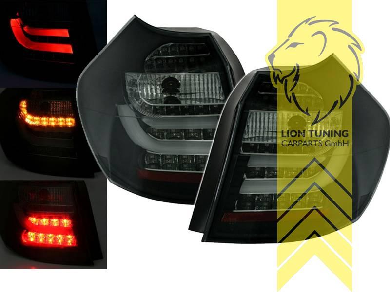 light bar led r ckleuchten heckleuchten f r bmw 1er e87. Black Bedroom Furniture Sets. Home Design Ideas