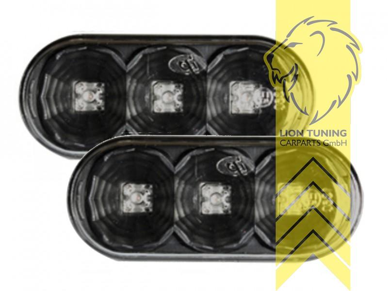 Seitenblinker für VW Passat 35i 3B 3BG Sharan 1 T5 Bus Caddy 2 3 schwarz