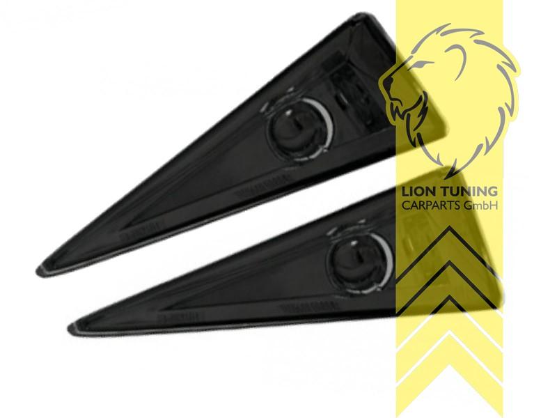 Seitenblinker für Renault Megane 2 chrom Klarglas
