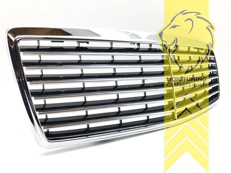 Sportgrill Kühlergrill für Mercedes Benz S-Klasse W140 ...