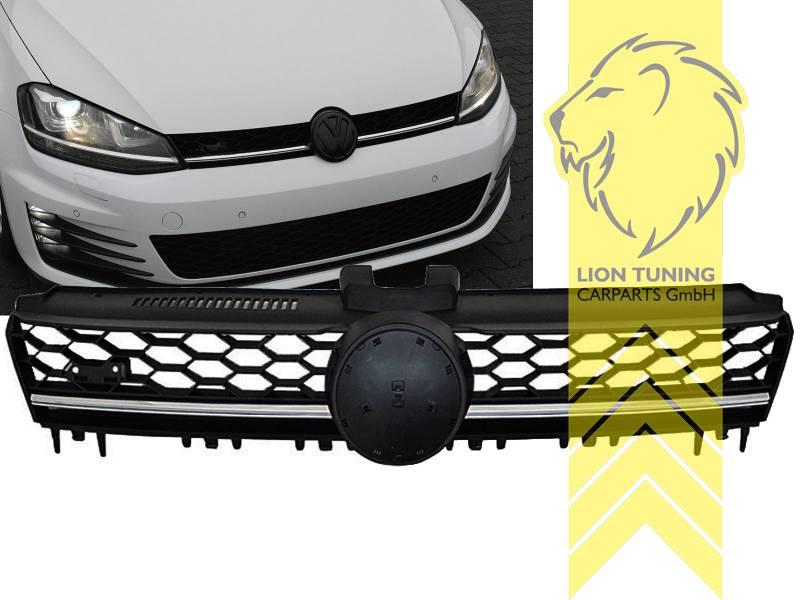sportgrill k hlergrill f r vw golf 7 limousine variant gtd. Black Bedroom Furniture Sets. Home Design Ideas