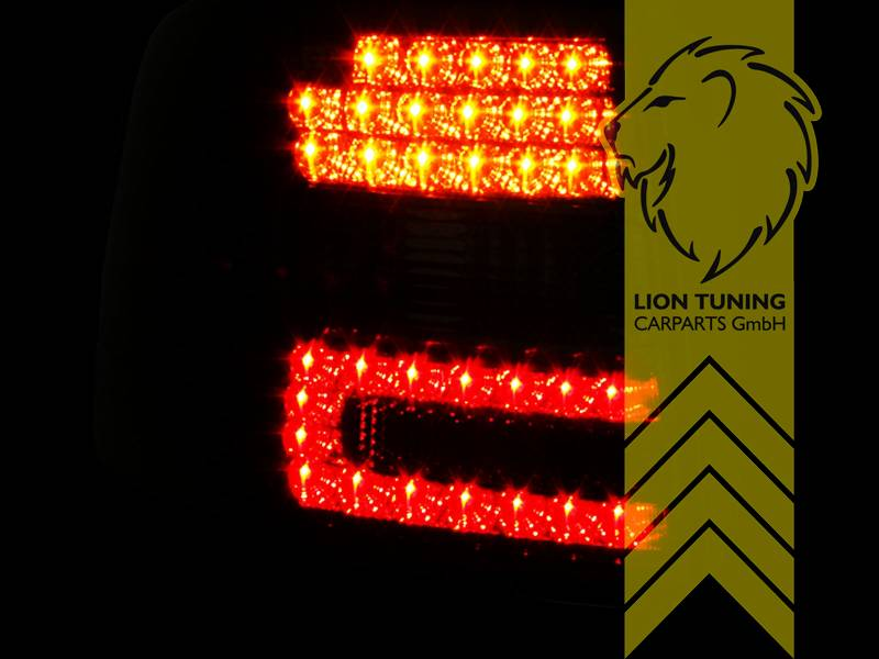 LED Rückleuchten Set für Audi A6 C5 Avant 97-05 Kombi Rot Smoke Heckleuchten