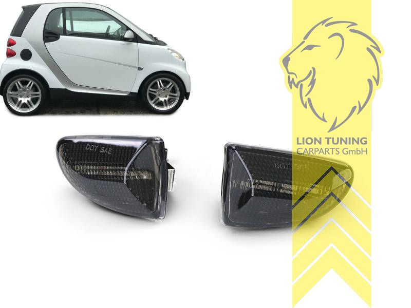 Seitenblinker links für Smart ForTwo 451 Coupe Cabrio ab 07