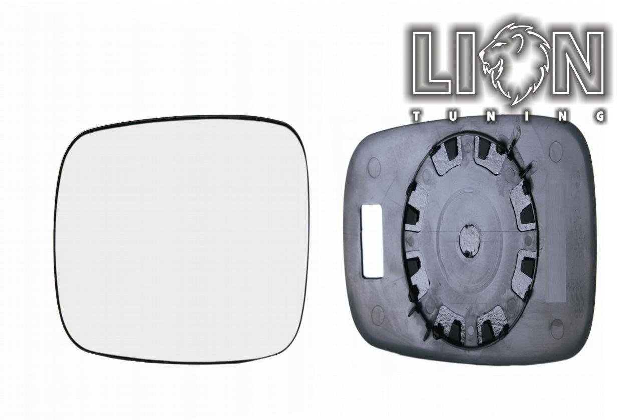 Links Asphärisch Fahrerseite Spiegelglas für Renault Clio 2005-2009