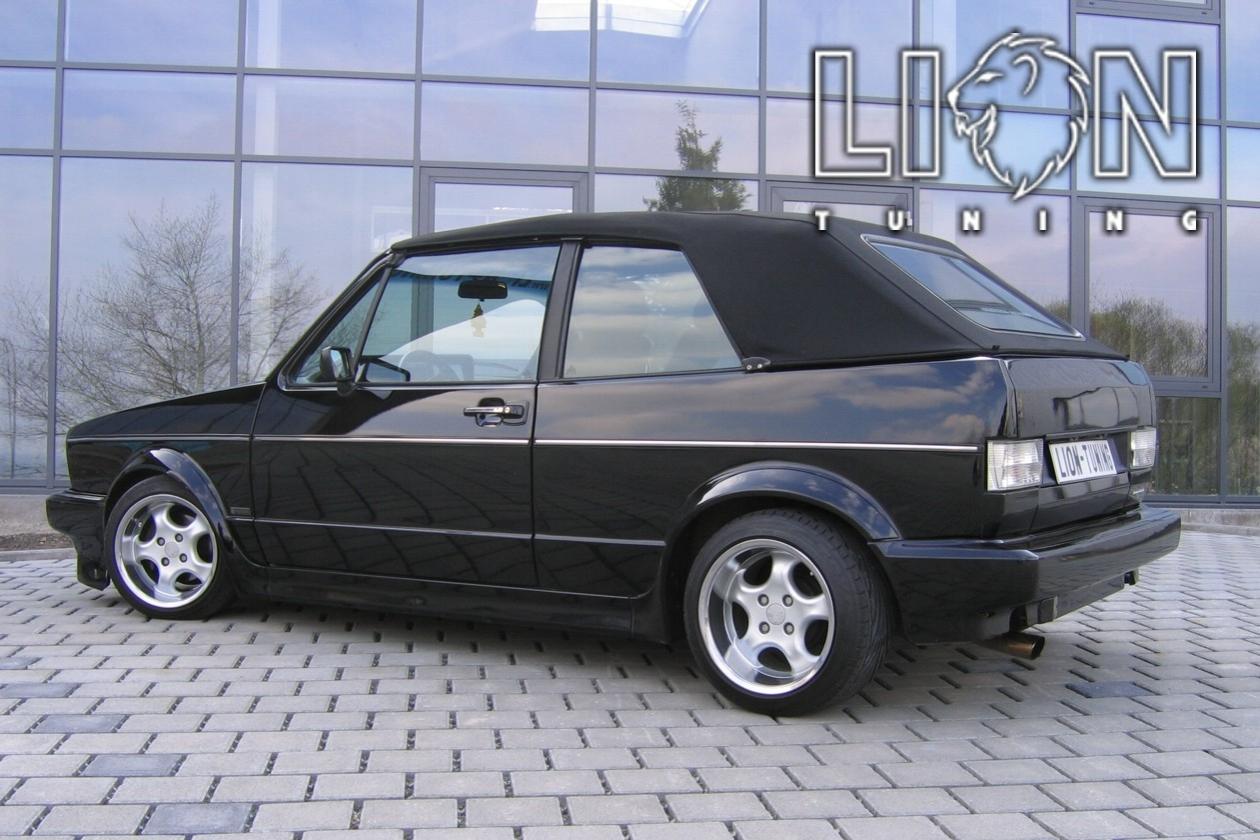 Auto Tuning Fâ R Vw Golf 1 Cabrio 16v Genesis Sommerreifen