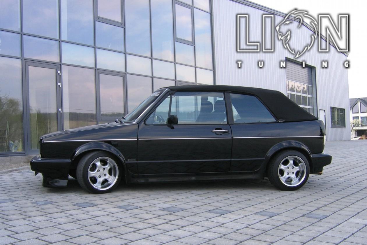 Auto Tuning Fâ R Vw Golf 1 Cabrio 16v Genesis Sommerreife